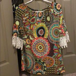 Dresses & Skirts - Colorful summer dress